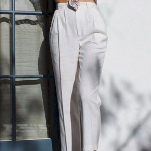 High waisted Vintage trousers